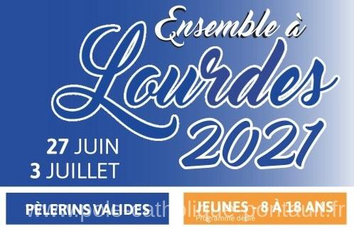 Pèlerinage à Lourdes 2021