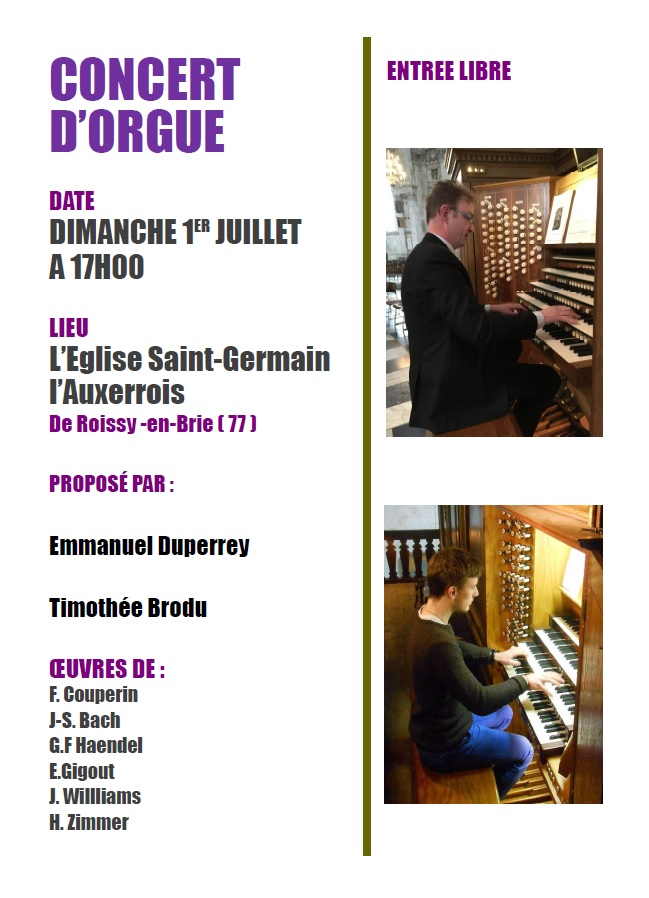 Orgue Roissy