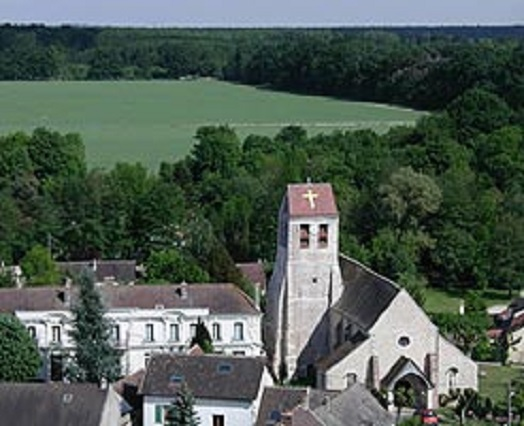 Eglise Saint Martin à Favières-En-Brie 77220